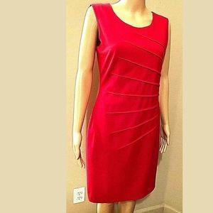 MAKE AN OFFER‼️Calvin Klein Red Dress Size 6